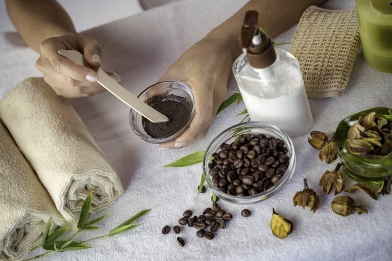 Скраб из кофейной гущи в домашних условиях, как приготовить