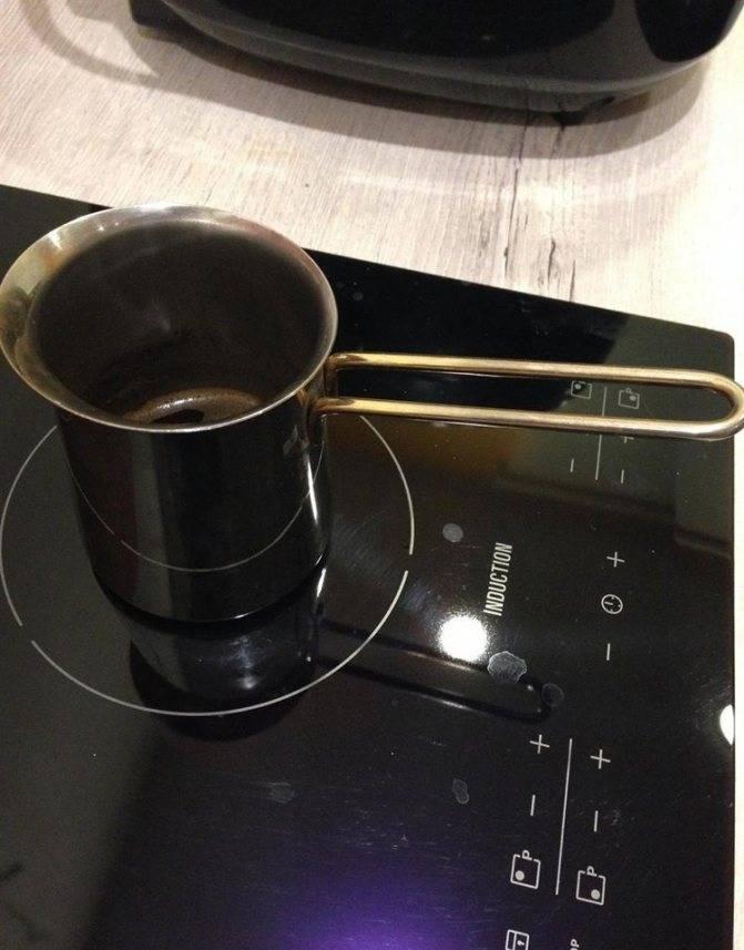 Турка для кофе для индукционной плиты: особенности и нюансы
