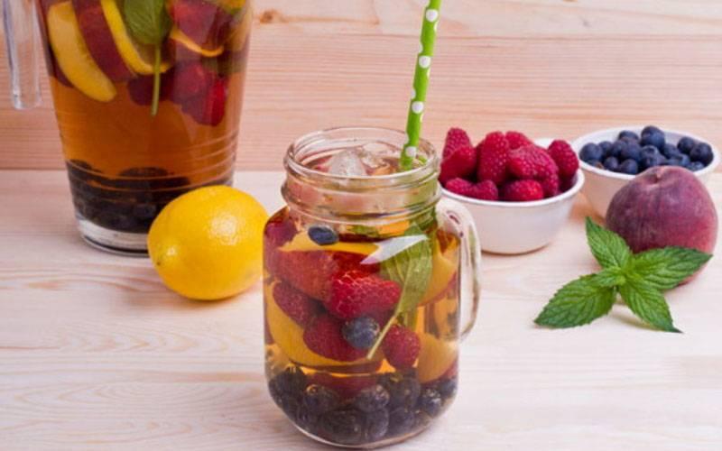 Как приготовить вкусный фруктовый чай: рецепты итонкости | omj