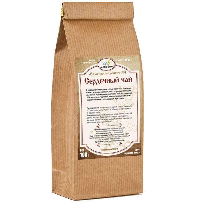 Монастырский чай от остеохондроза состав и пропорции