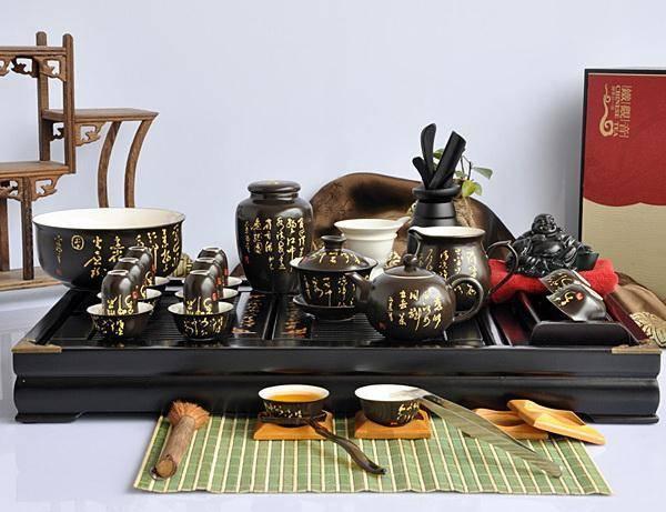 Набор чайный: металлический, керамический, стеклянный и их свойства