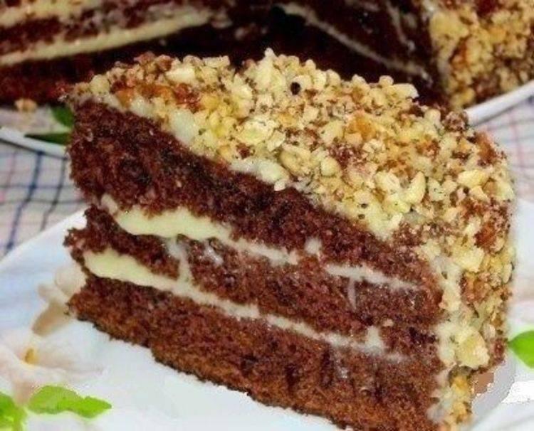 Рецепты шоколадных тортов в домашних условиях с пошаговыми фото