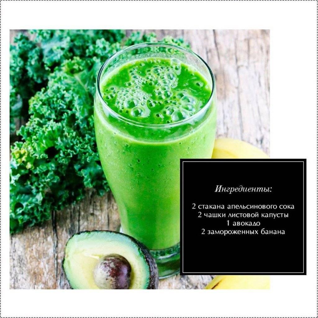 Зеленый смузи — лучшее лекарство от весеннего авитаминоза!