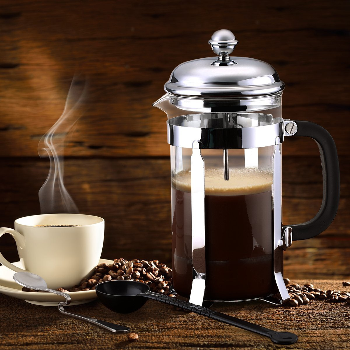 Как заваривать кофе в френч-прессе: пошаговая инструкция