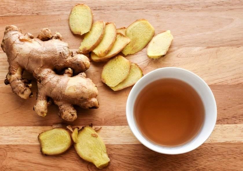 Чай с имбирём, польза и вред для здоровья человека