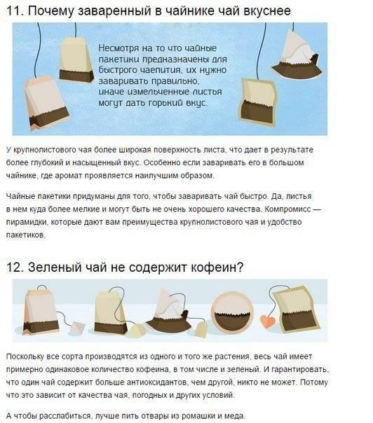 Чай в пакетиках — покупать или нет? | simpleslim