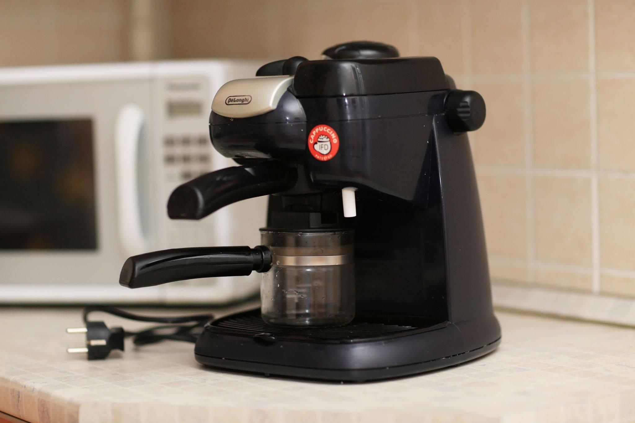 Delonghi ес 685: инструкция и описание модели. преимущества, недостатки, особенности эксплуатации. способы ухода за кофеваркой