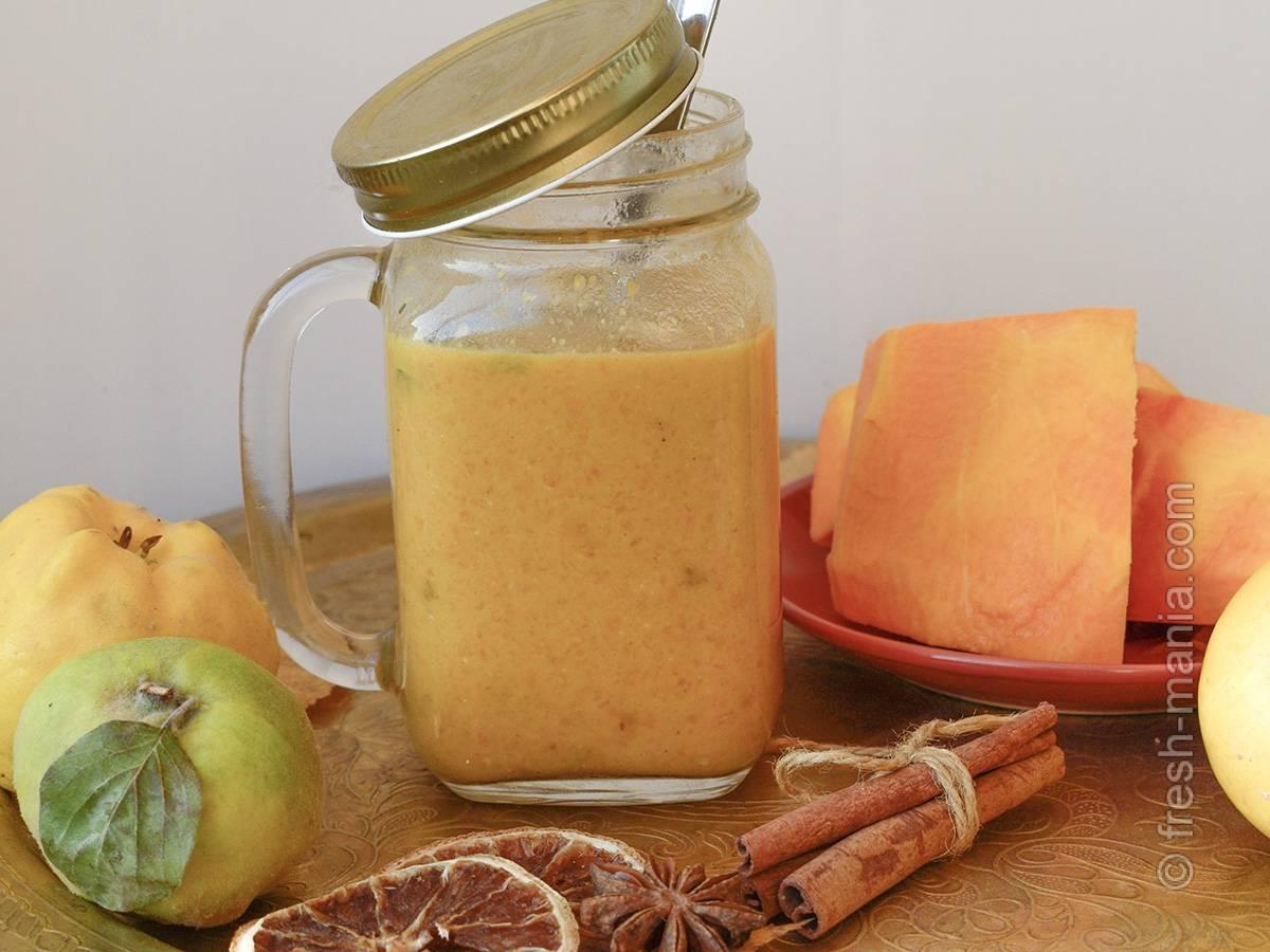 Сезон тыквы — 10 идей для вкусного и полезного тыквенного смузи