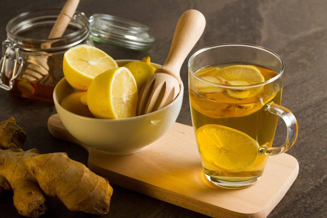 Имбирь от простуды (рецепты чая с имбирем, медом и лимоном)