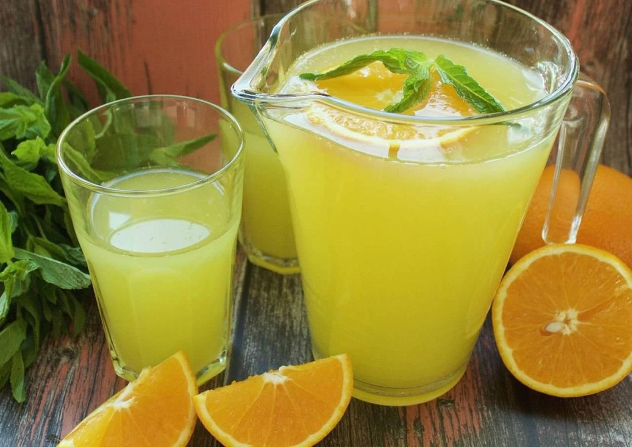 4 рецепта апельсинового морса