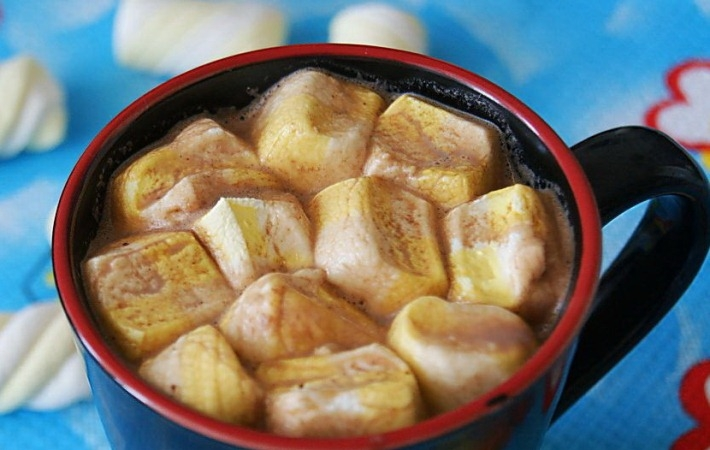 Кофе с зефирками: особенности приготовления