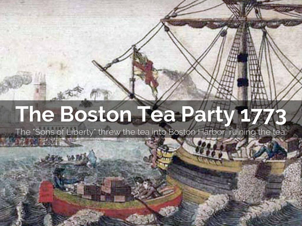 Бостонское чаепитие: причины и последствия