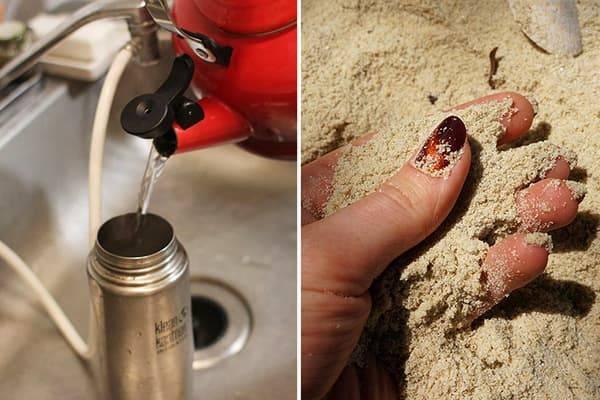 Как почистить термос от чайного налета внутри: чем и как можно отмыть изнутри, как почистить металлические термос из нержавейки от накипи в середине