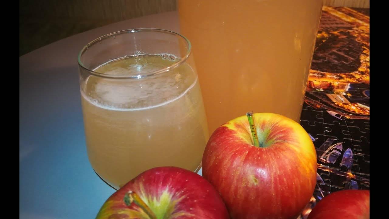 Яблочный квас в домашних условиях - пошаговый рецепт
