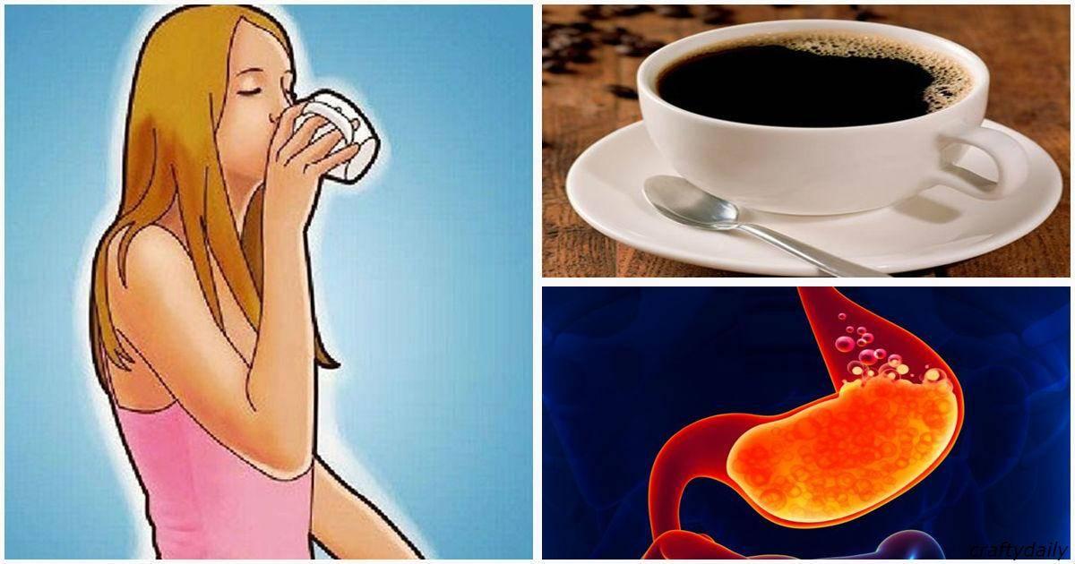 Диарея по утрам после кофе