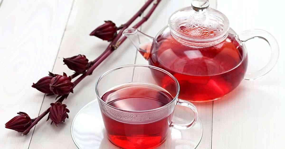 Красный чай каркаде