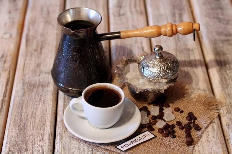 Как правильно сварить кофе в турке дома на плите, рецепты приготовления