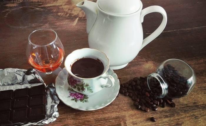 Польза и вред кофе с коньяком, рецепты приготовления, пропорции