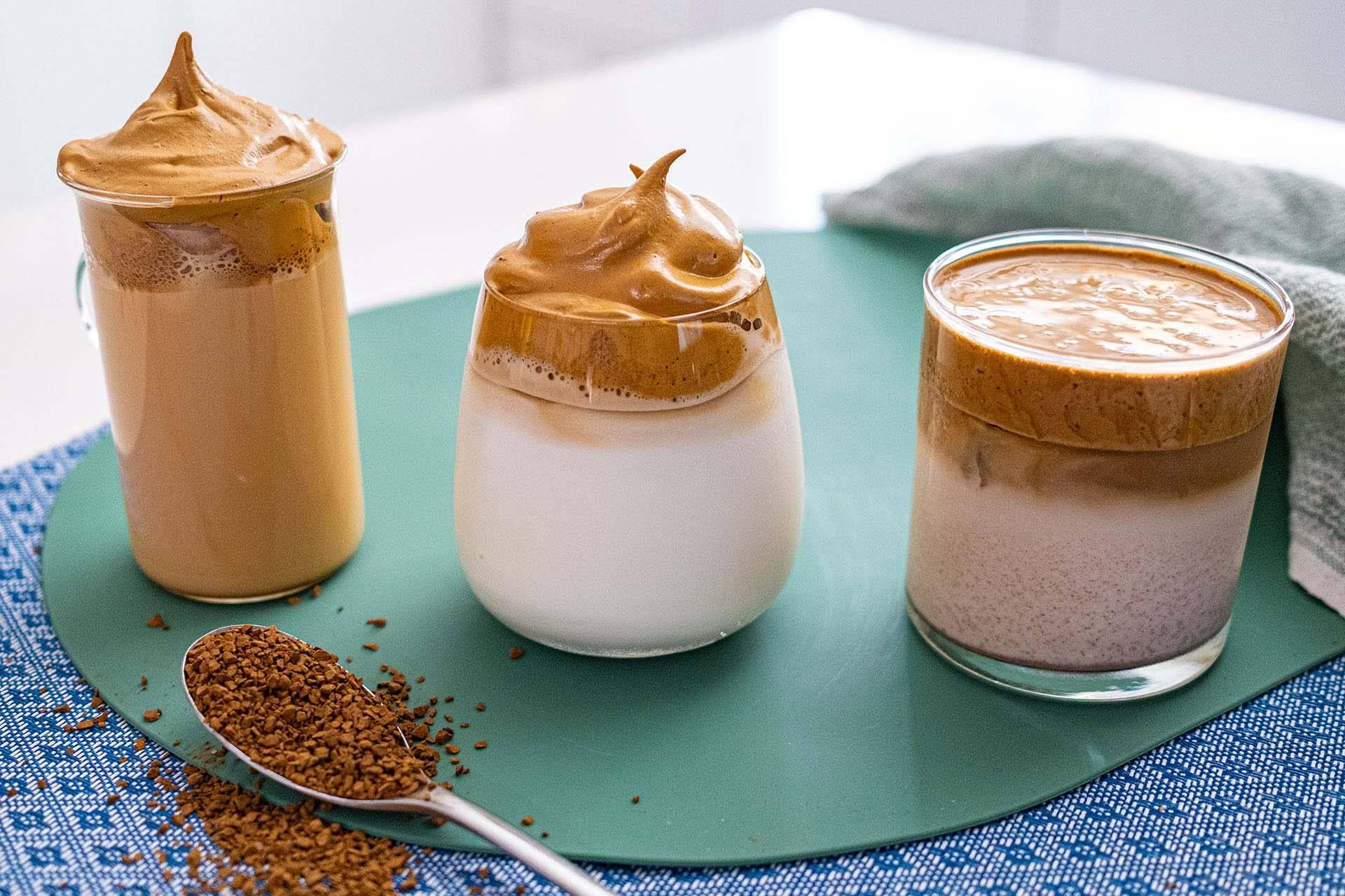 Южнокорейский кофе dalgona действительно хорош: фишка в приготовлении – электронный венчик
