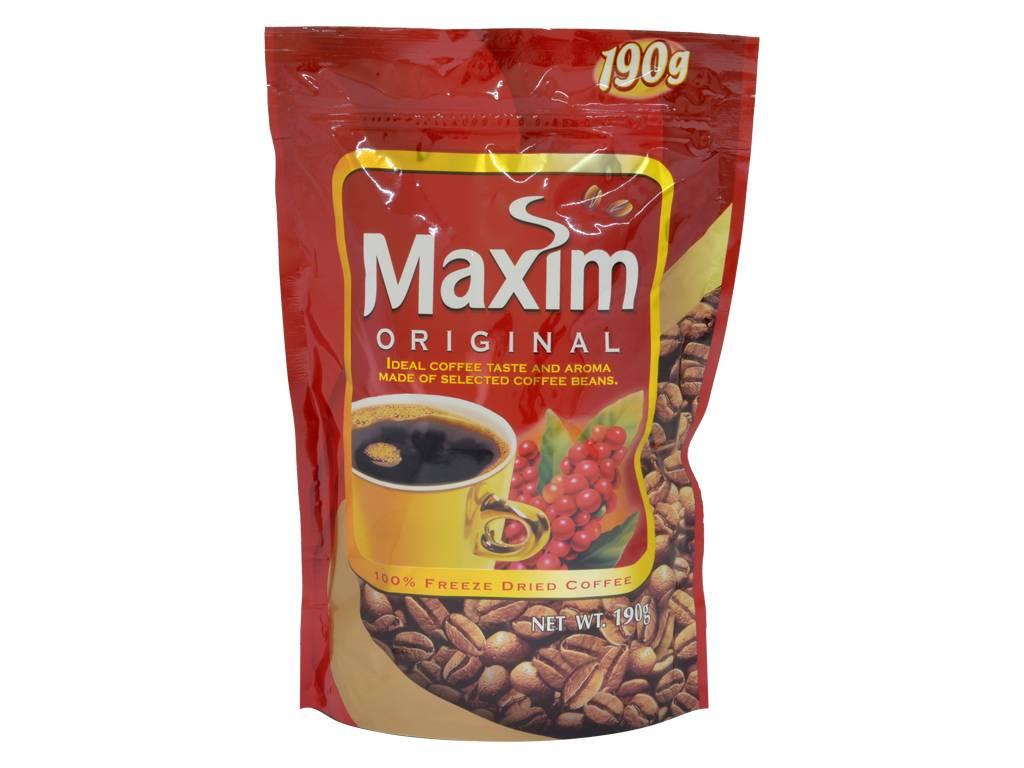 Кофе maxim original