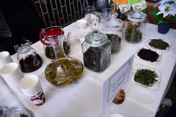 Грузинский чай: сорта плиточных продуктов