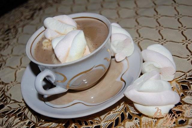 Рецепт приготовления кофе с маршмеллоу