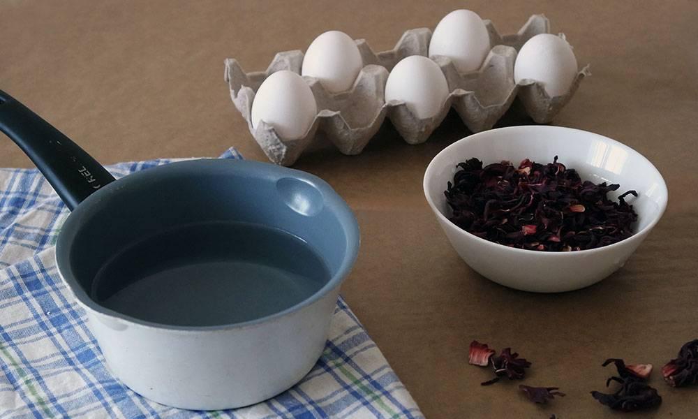 Как правильно красить яйца чаем и кофе   великий чайный путь