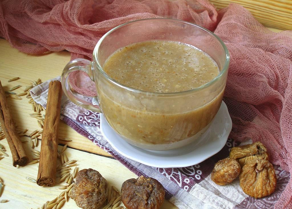Овсяный кисель из геркулеса или овсяных хлопьев — 9 рецептов