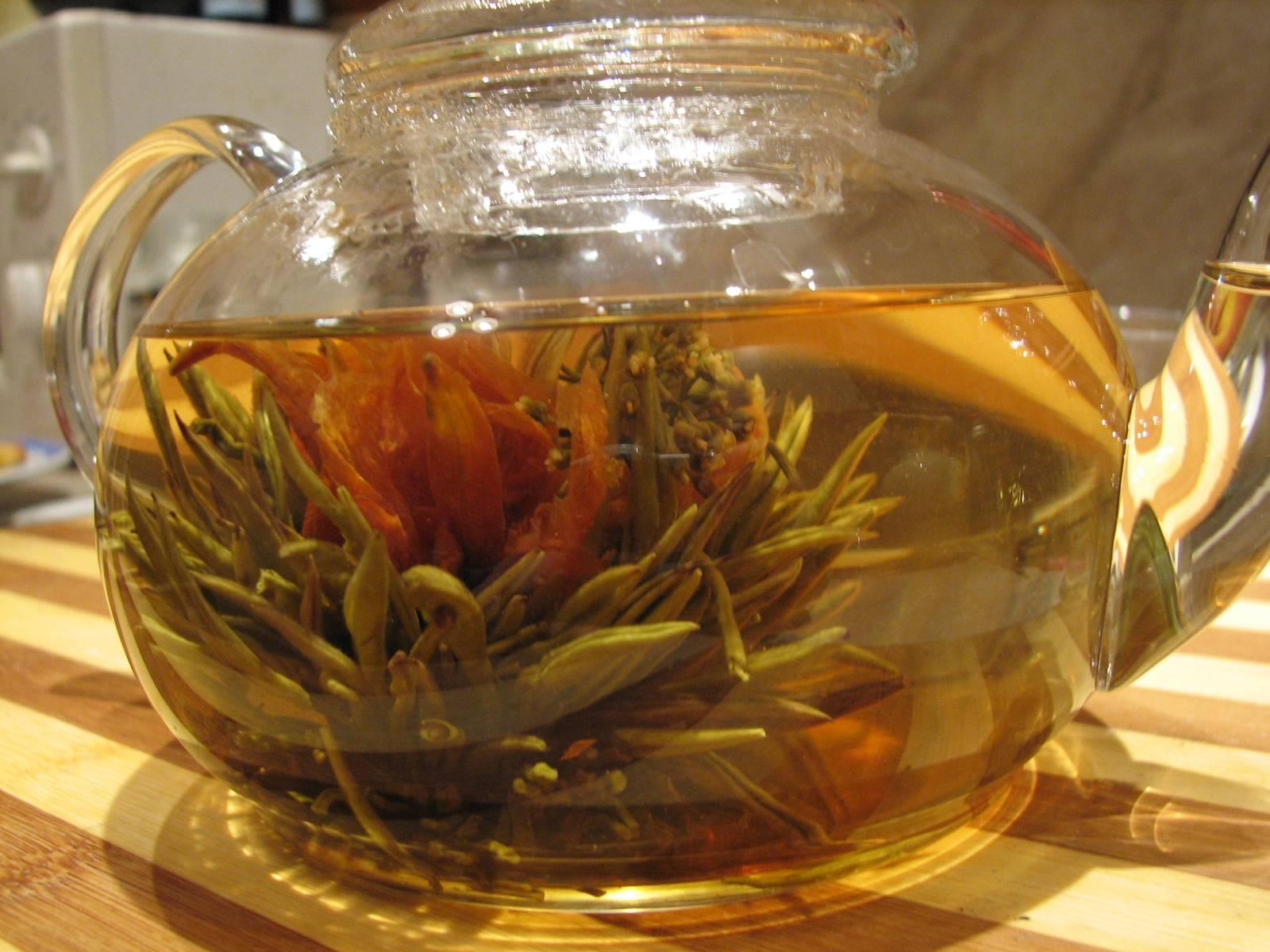 Связанный (цветущий) чай