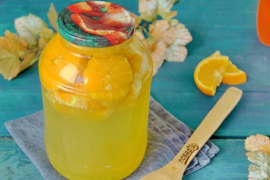 Компот из апельсинов — лучшие рецепты полезного витаминного напитка