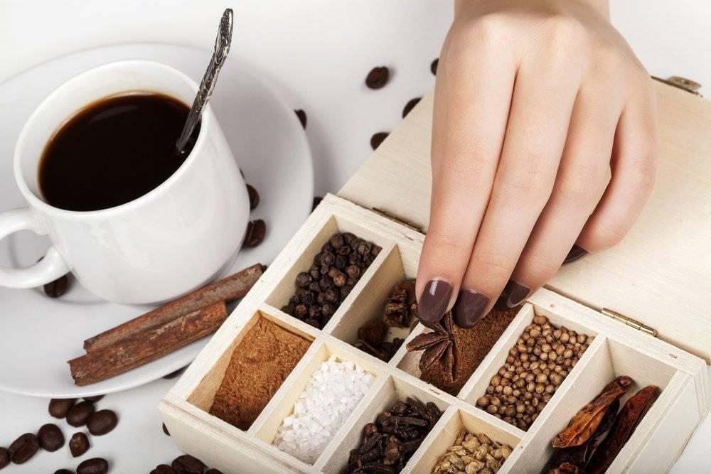 Какие специи и пряности можно добавить в кофе – рецепты, советы