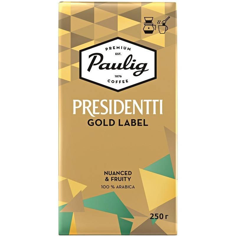Кофе paulig president характеристики марки и советы по выбору