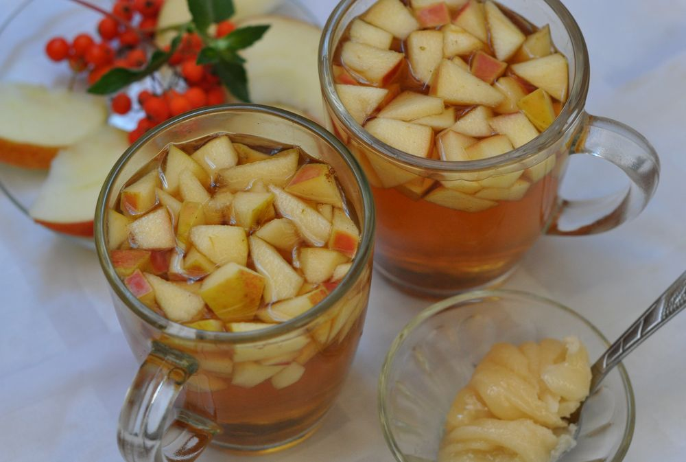 Рецепты яблочного чая и его польза