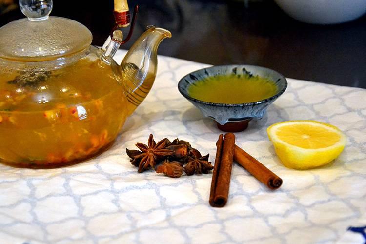 Чай из тыквы для очищения организма