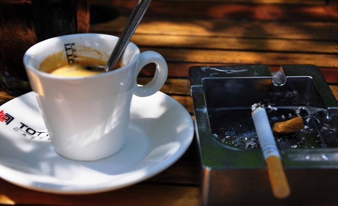 Кофе и сигареты: вред для здоровья