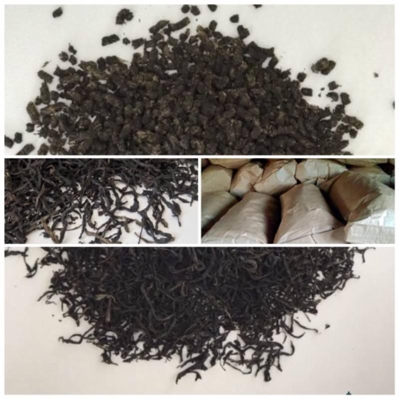 Листовой и гранулированный чай