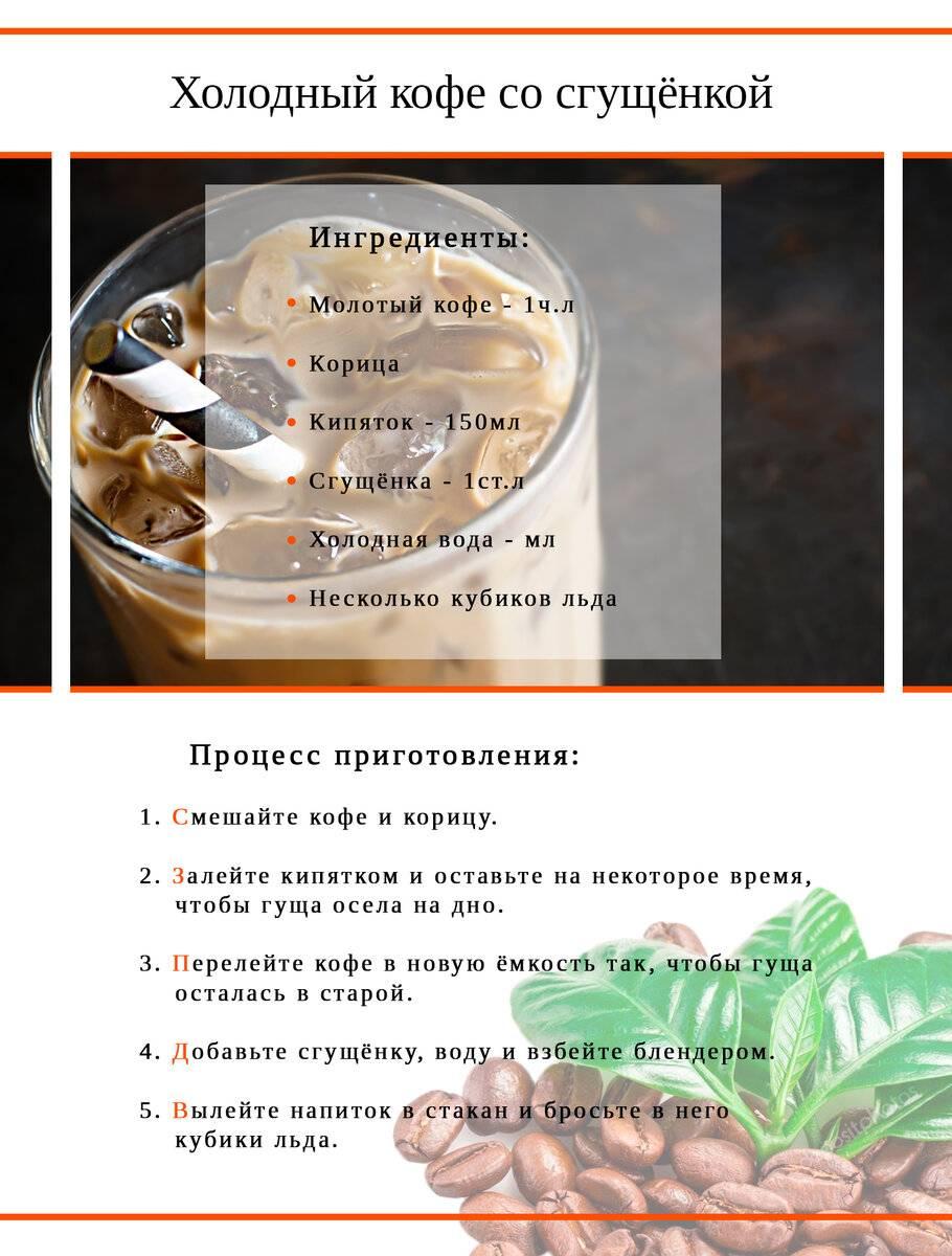Как приготовить кофе со льдом