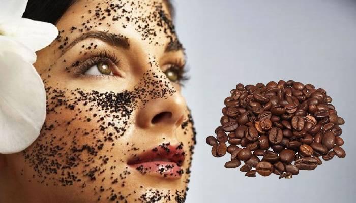 Кофейная гуща для лица - польза, варианты применения (маски и не только) + видео