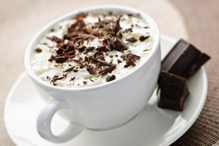 Кофе со вкусом шоколада (мокачино): состав, рецепт, ккал и цена