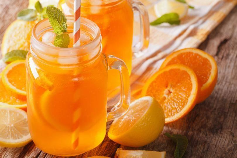 Рецепты чая с апельсином и имбирем