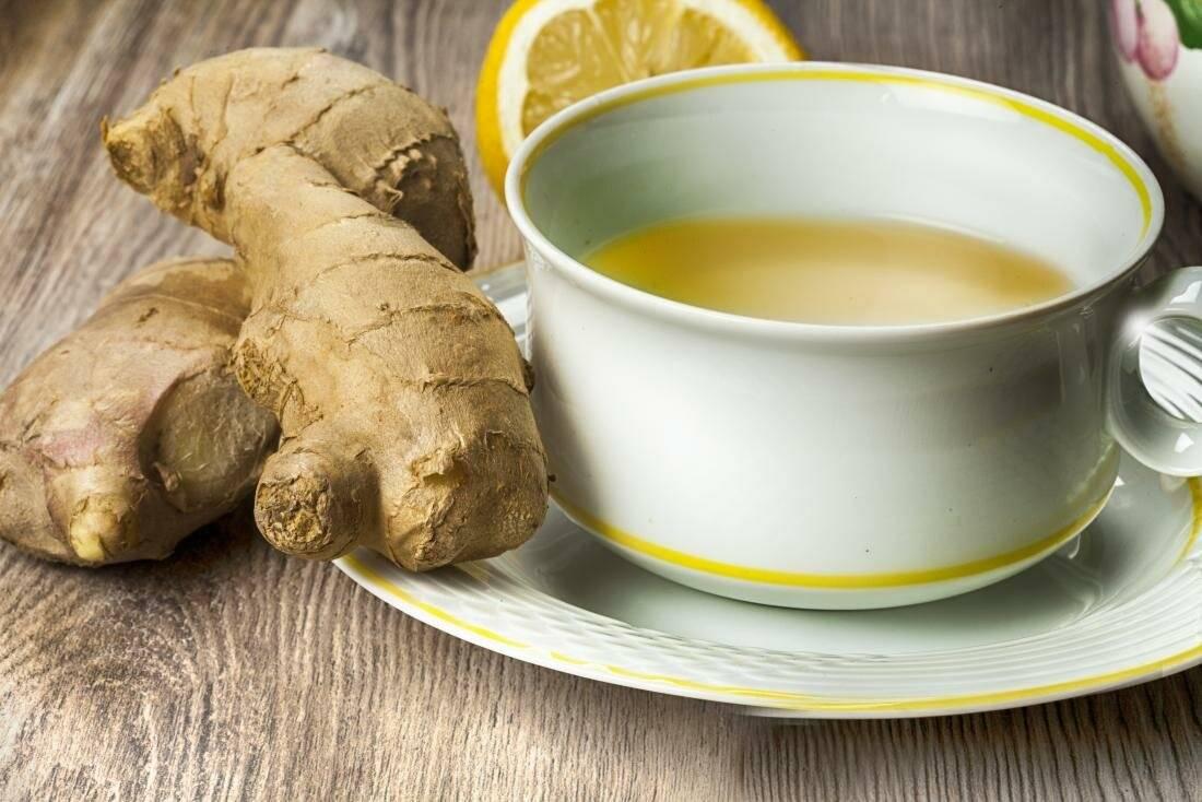 Что хорошего и плохого скрывает в себе имбирный чай?