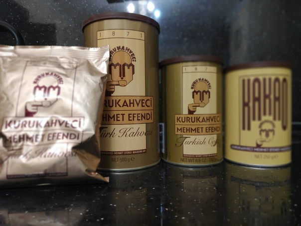 Кофе молотый турецкий kurukahveci mehmet efendi 500 г