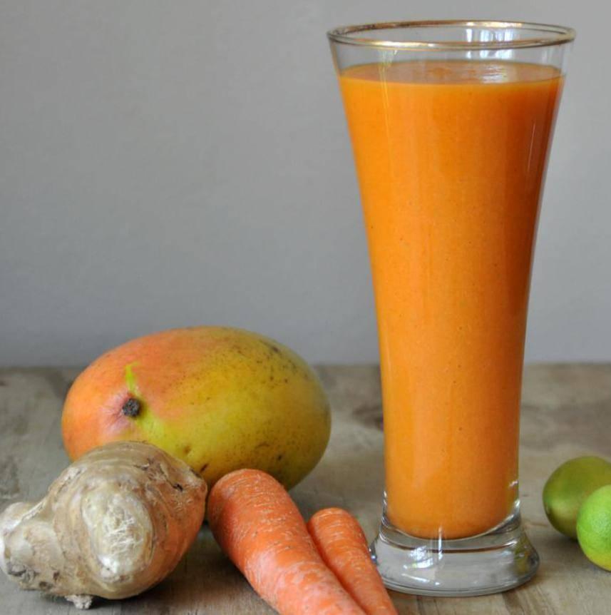 Смузи из моркови и яблока польза