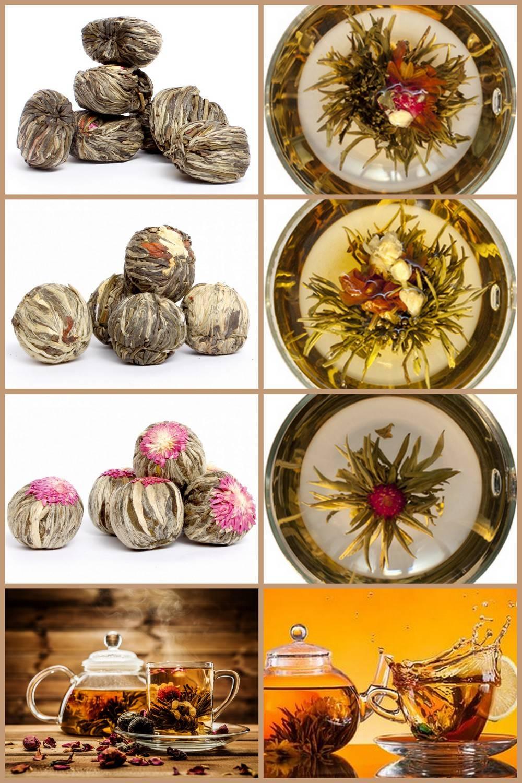 Связанный чай китайский: как заваривать, как связывают