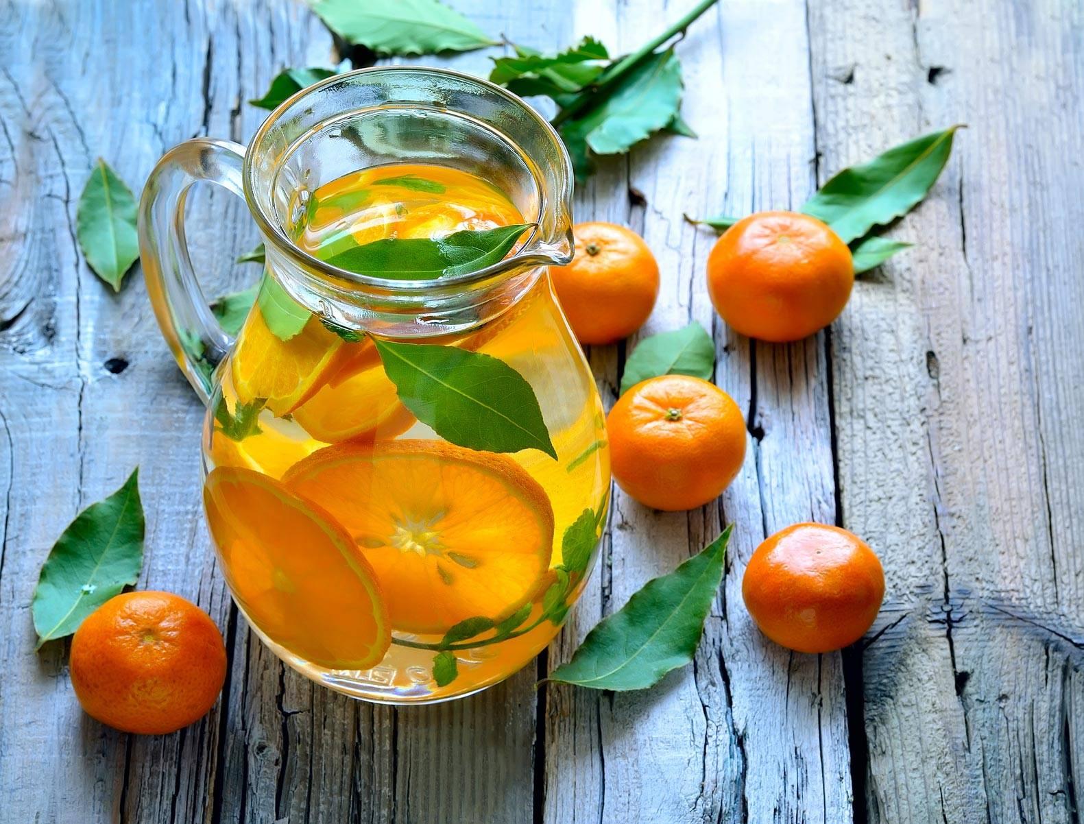 Домашний лимонад из апельсинов - 7 рецептов приготовления с фото
