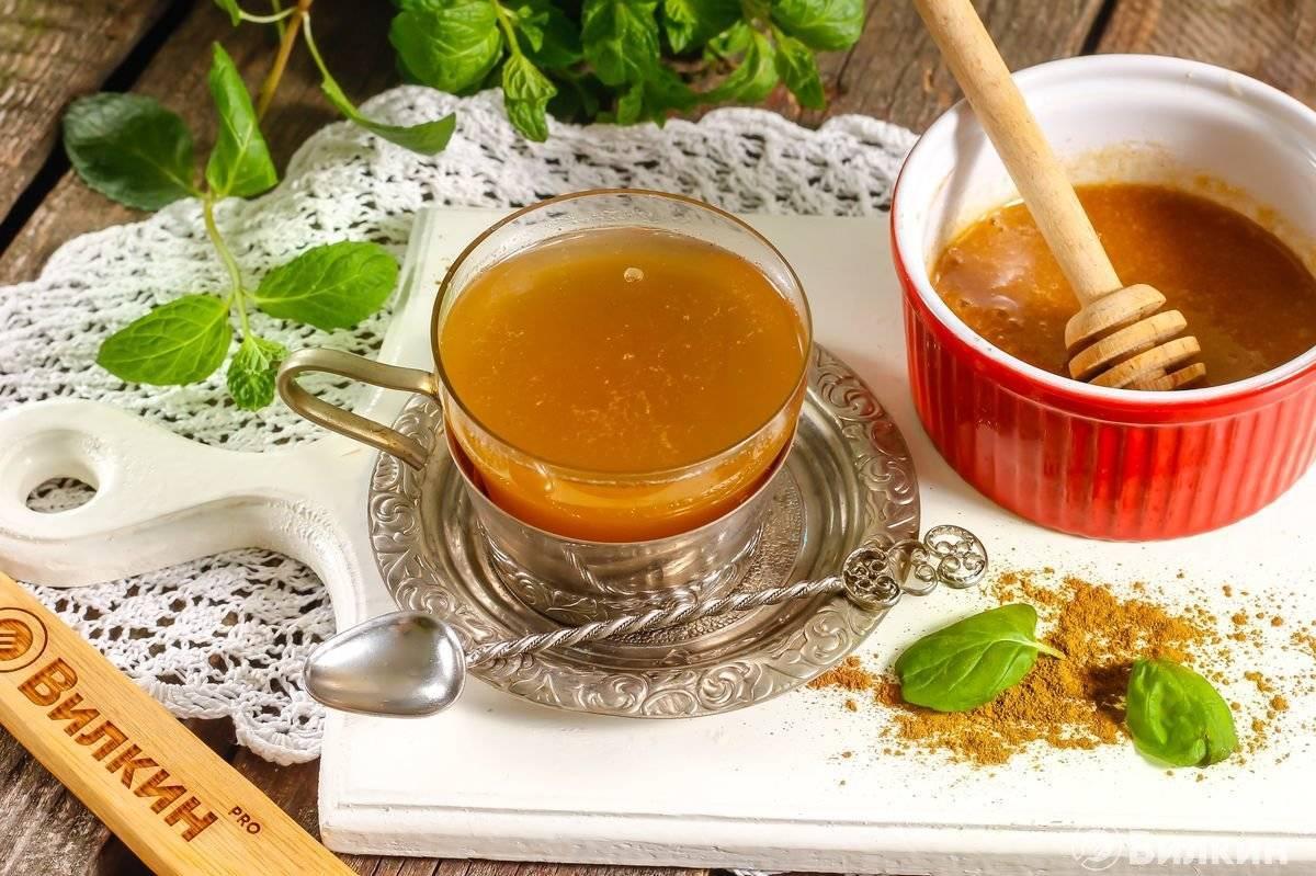 Рецепты чая с имбирем и корицей