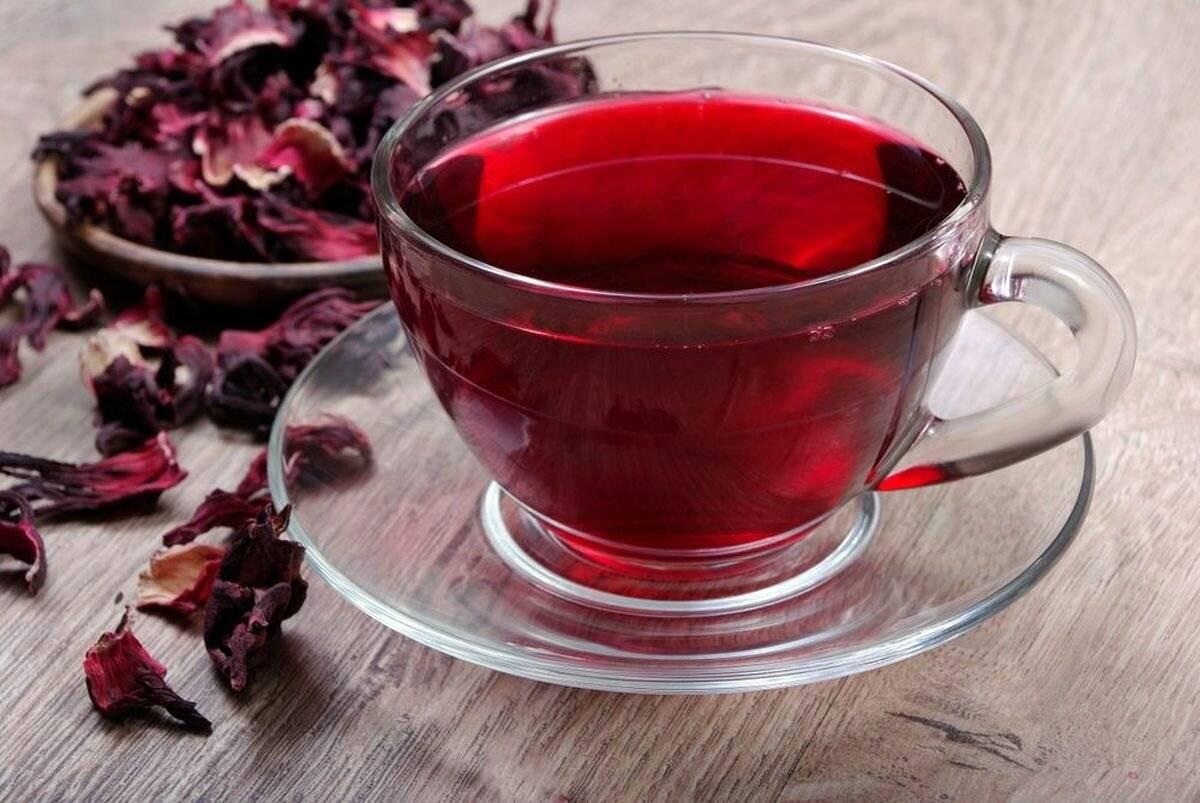 Повышает или понижает артериальное давление каркаде - свойства холодного и горячего чая