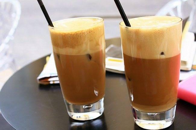 Холодные напитки на основе кофе