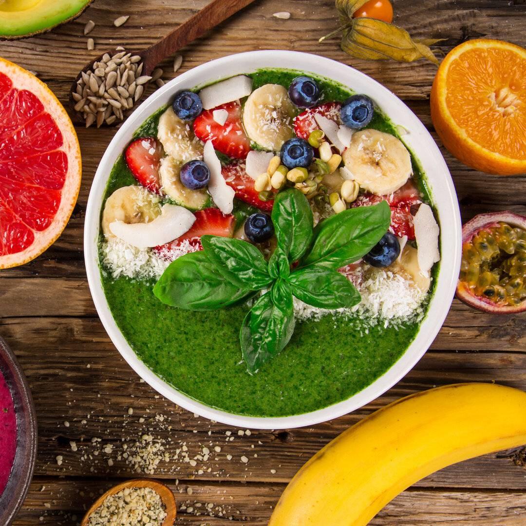 Смузи-боул: рецепт для завтрака, особенности приготовления
