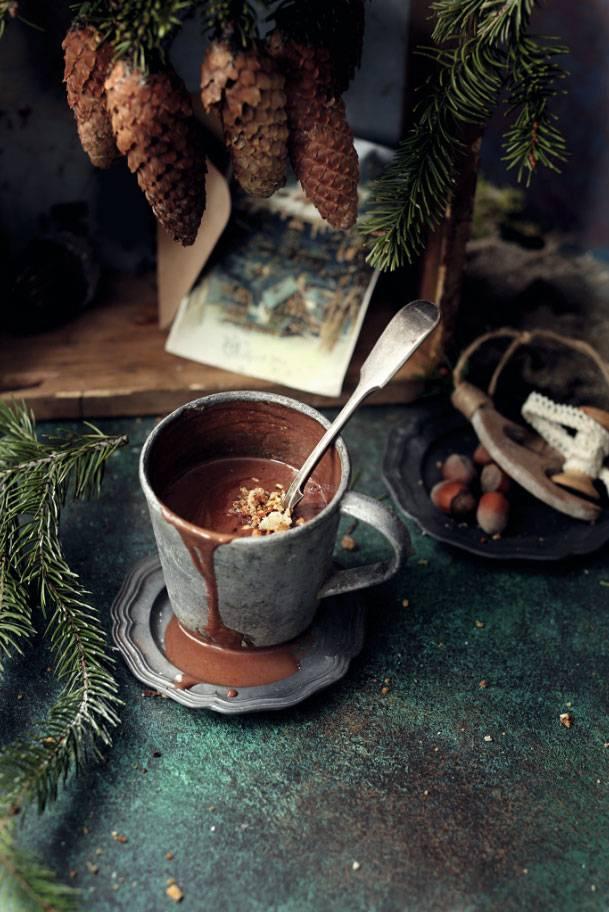 Горячий шоколад «романтик»